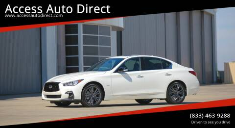 2020 Infiniti Q50 for sale at Access Auto Direct in Baldwin NY