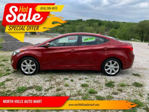 2011 Hyundai Elantra for sale at NORTH HILLS AUTO MART in Kansas City MO