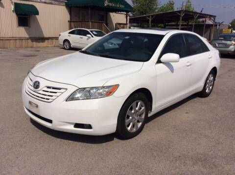 2007 Toyota Camry for sale at OASIS PARK & SELL in Spring TX