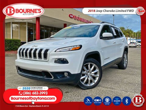 2018 Jeep Cherokee for sale at Bourne's Auto Center in Daytona Beach FL