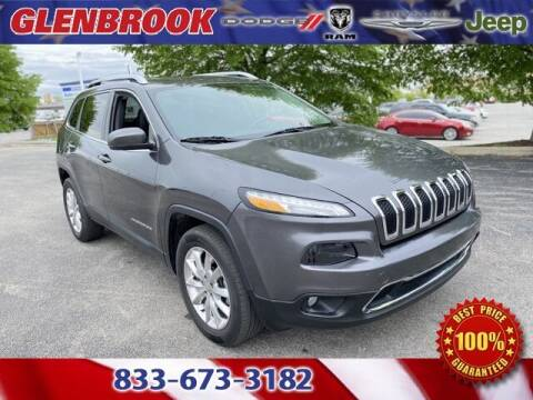 2017 Jeep Cherokee for sale at Glenbrook Dodge Chrysler Jeep Ram and Fiat in Fort Wayne IN