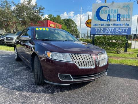 2011 Lincoln MKZ for sale at Coastal Auto Ranch, Inc. in Port Saint Lucie FL