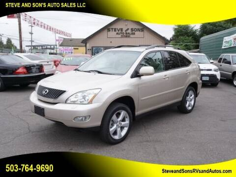 2005 Lexus RX 330 for sale at Steve & Sons Auto Sales in Happy Valley OR