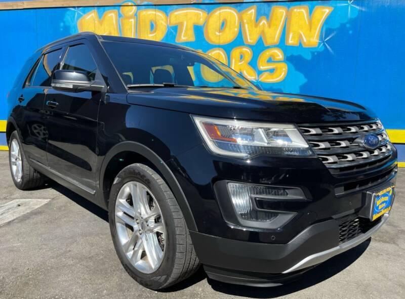 2016 Ford Explorer for sale at Midtown Motors in San Jose CA