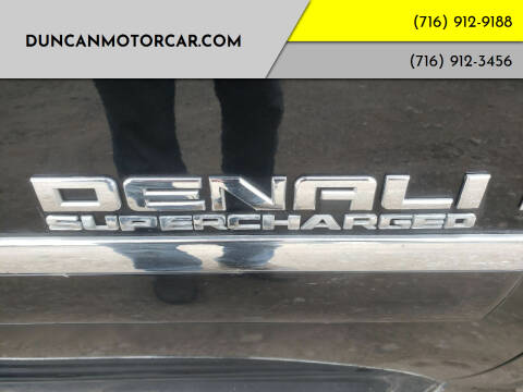 2009 GMC Yukon for sale at DuncanMotorcar.com in Buffalo NY