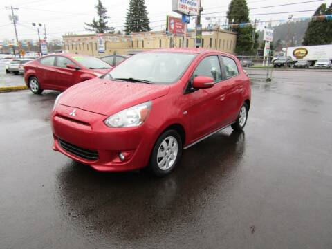 2015 Mitsubishi Mirage for sale at ARISTA CAR COMPANY LLC in Portland OR