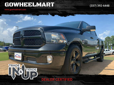 2018 RAM Ram Pickup 1500 for sale at GOWHEELMART in Leesville LA