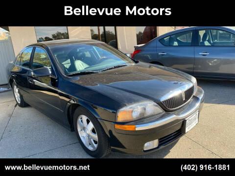 2002 Lincoln LS for sale at Bellevue Motors in Bellevue NE