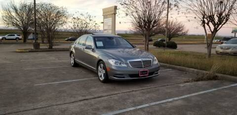 2012 Mercedes-Benz S-Class for sale at America's Auto Financial in Houston TX