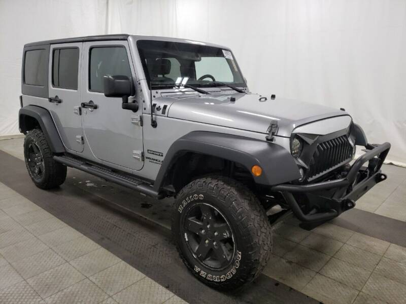 2015 Jeep Wrangler Unlimited for sale at NORTH CHICAGO MOTORS INC in North Chicago IL