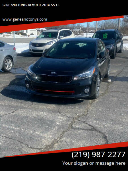 2017 Kia Forte5 for sale at GENE AND TONYS DEMOTTE AUTO SALES in Demotte IN