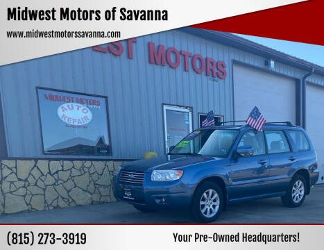 2007 Subaru Forester for sale at Midwest Motors of Savanna in Savanna IL