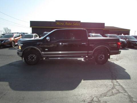 2018 Ford F-150 for sale at MIRA AUTO SALES in Cincinnati OH