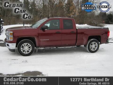 2014 Chevrolet Silverado 1500 for sale at Cedar Car Co in Cedar Springs MI