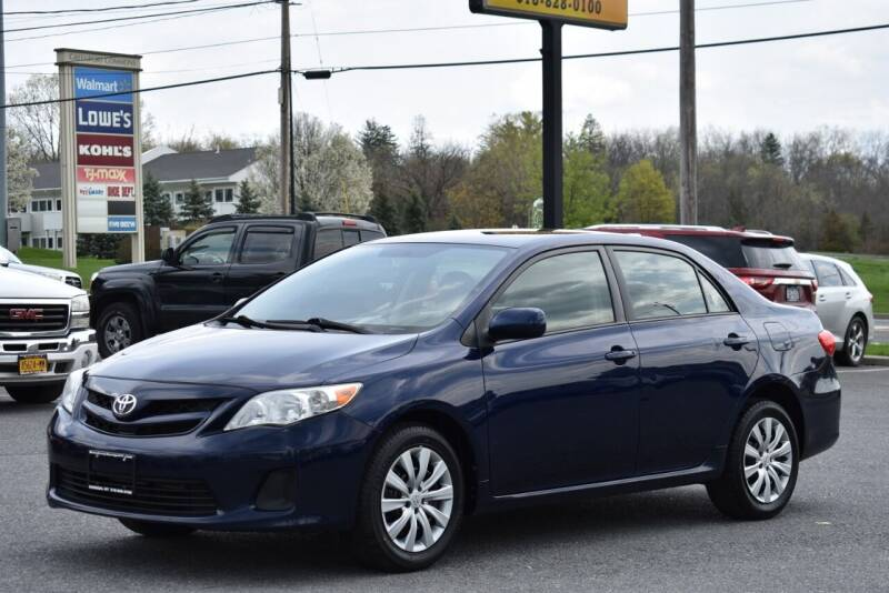 2012 Toyota Corolla for sale at Broadway Garage of Columbia County Inc. in Hudson NY
