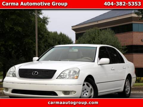 2001 Lexus LS 430 for sale at Carma Auto Group in Duluth GA