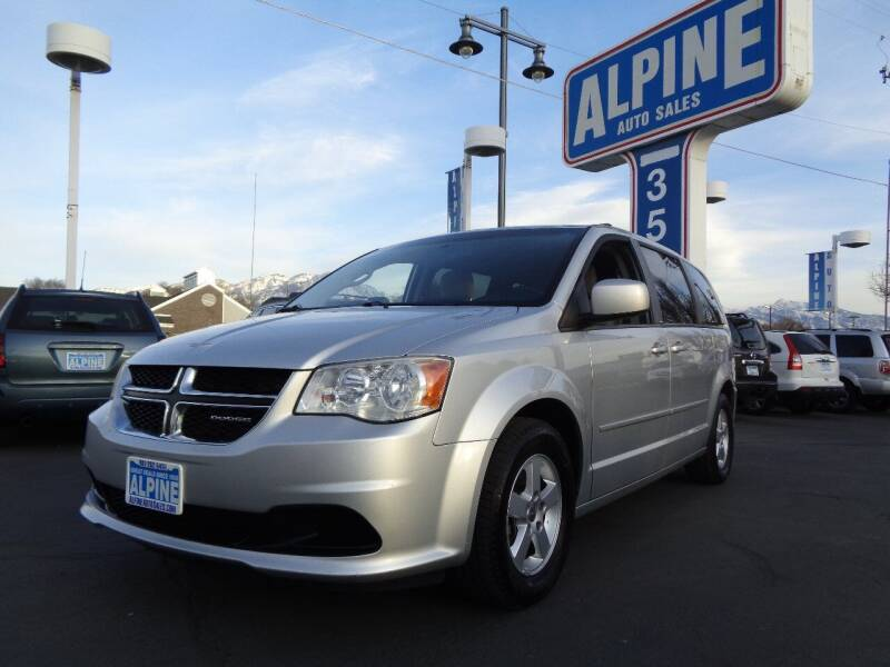 2011 Dodge Grand Caravan for sale at Alpine Auto Sales in Salt Lake City UT