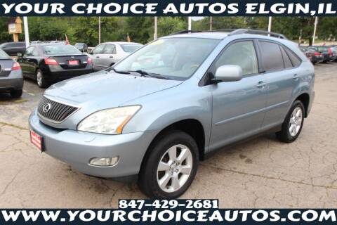 2004 Lexus RX 330 for sale at Your Choice Autos - Elgin in Elgin IL