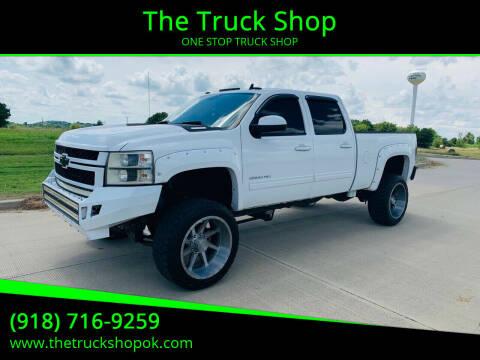 2013 Chevrolet Silverado 2500HD for sale at The Truck Shop in Okemah OK