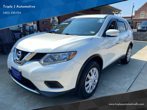 2015 Nissan Rogue for sale at Triple J Automotive in Erwin TN