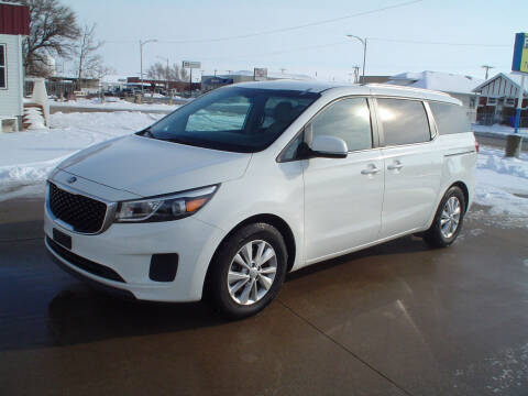 2016 Kia Sedona for sale at World of Wheels Autoplex in Hays KS