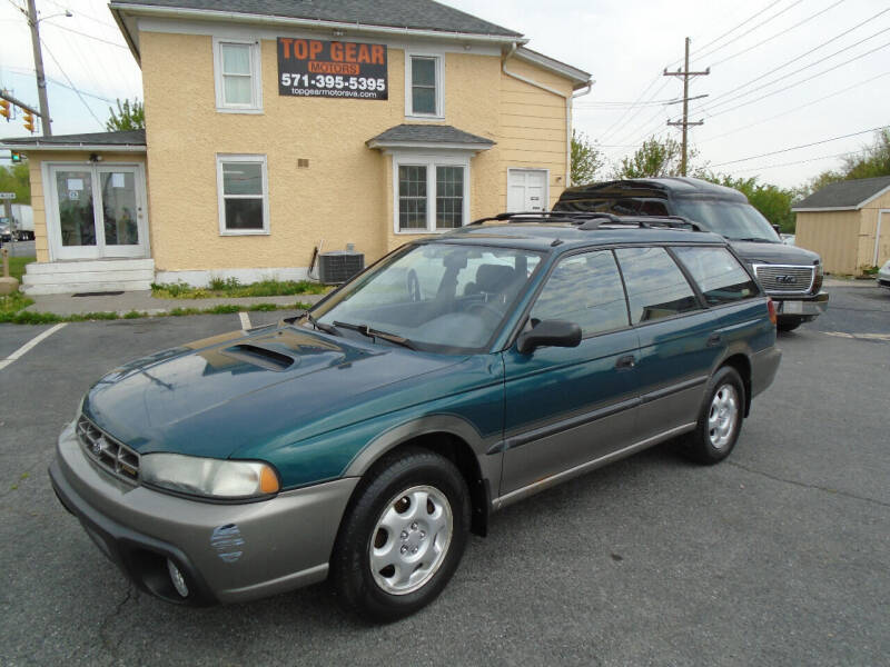 1997 Subaru Legacy for sale at Top Gear Motors in Winchester VA