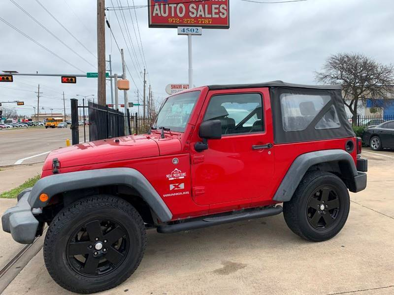 2009 Jeep Wrangler for sale at SP Enterprise Autos in Garland TX