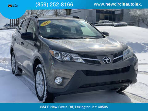 2015 Toyota RAV4 for sale at New Circle Auto Sales LLC in Lexington KY