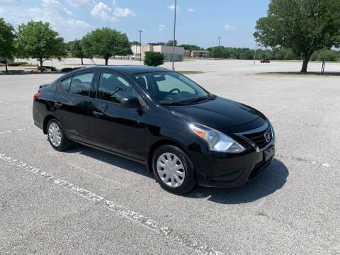 2015 Nissan Versa for sale at GTR Auto Sales LLC in Haltom City TX