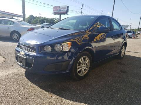 2013 Chevrolet Sonic for sale at Best Buy Autos in Mobile AL