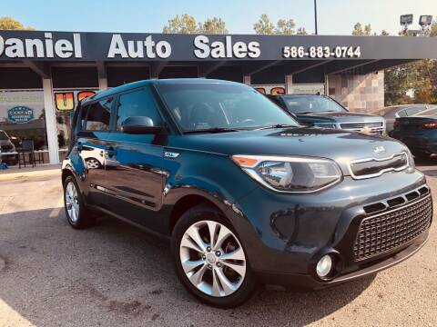2016 Kia Soul for sale at Daniel Auto Sales inc in Clinton Township MI
