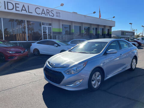 2013 Hyundai Sonata Hybrid for sale at Ideal Cars Apache Junction in Apache Junction AZ