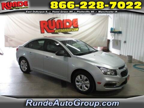 2016 Chevrolet Cruze Limited for sale at Runde PreDriven in Hazel Green WI