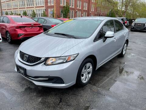 2013 Honda Civic for sale at Mass Auto Exchange in Framingham MA