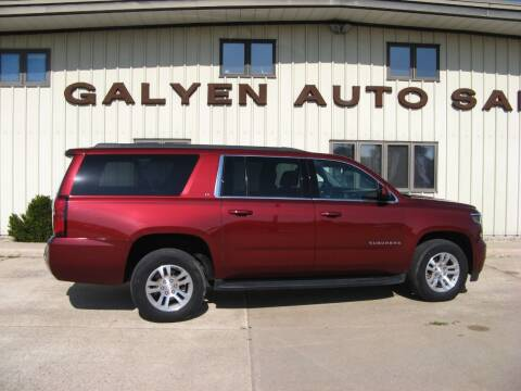 2017 Chevrolet Suburban for sale at Galyen Auto Sales Inc. in Atkinson NE
