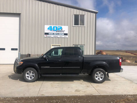 2004 Toyota Tundra for sale at 402 Autos in Lindsay NE