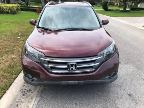 2014 Honda CR-V for sale at AUTOSPORT in Wellington FL