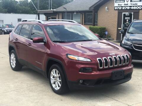 2017 Jeep Cherokee for sale at Safeen Motors in Garland TX