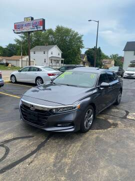 2019 Honda Accord for sale at Dream Auto Sales in South Milwaukee WI