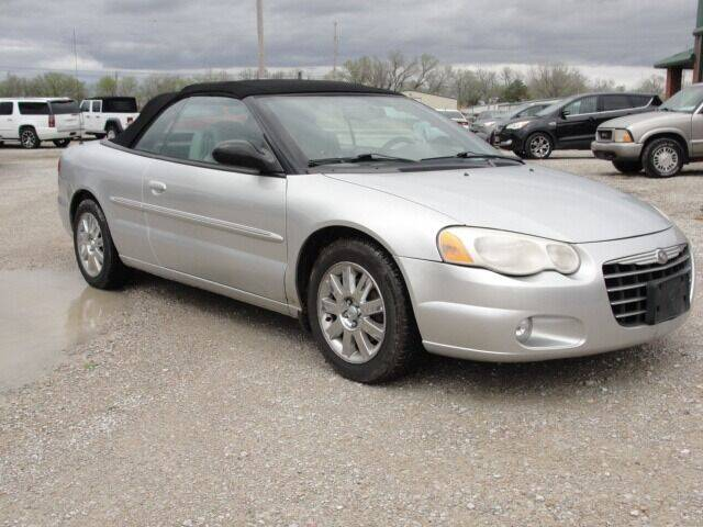 2005 Chrysler Sebring for sale at Frieling Auto Sales in Manhattan KS