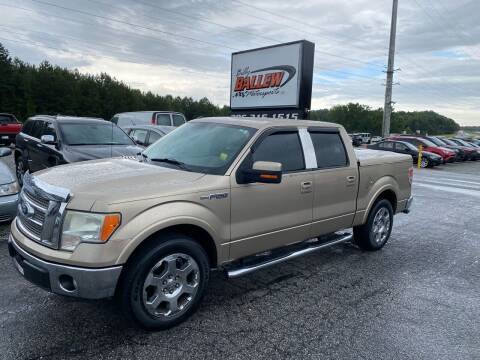 2011 Ford F-150 for sale at Billy Ballew Motorsports in Dawsonville GA