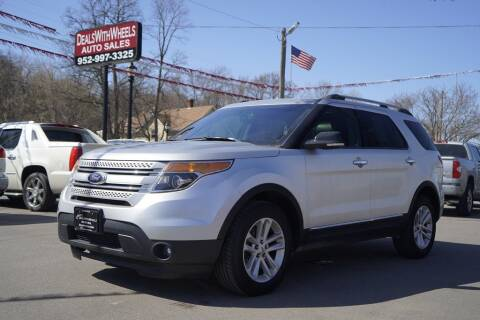 2014 Ford Explorer for sale at Dealswithwheels in Inver Grove Heights/Hastings MN