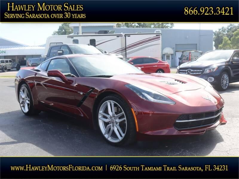 2018 Chevrolet Corvette for sale at Hawley Motor Sales in Sarasota FL