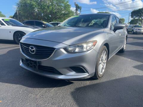 2015 Mazda MAZDA6 for sale at Bargain Auto Sales in West Palm Beach FL