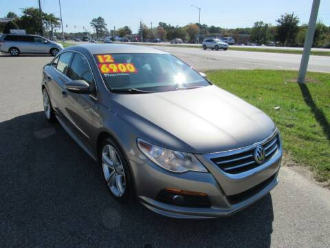 2012 Volkswagen CC for sale at Auto Bella Inc. in Clayton NC