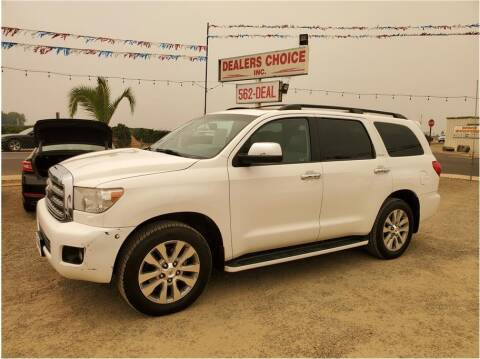 2014 Toyota Sequoia for sale at Dealers Choice Inc in Farmersville CA