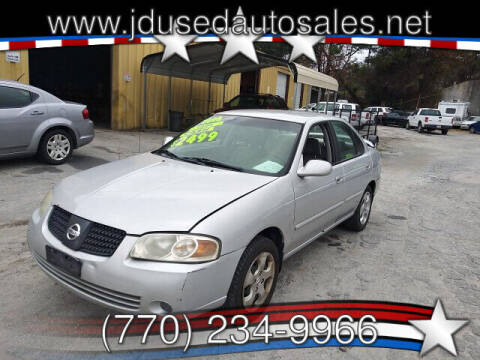 2006 Nissan Sentra for sale at J D USED AUTO SALES INC in Doraville GA