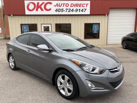 2016 Hyundai Elantra for sale at OKC Auto Direct in Oklahoma City OK
