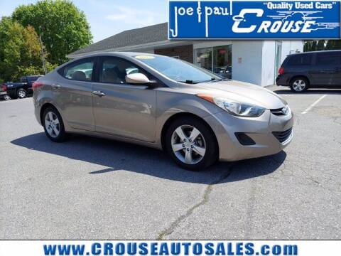 2013 Hyundai Elantra for sale at Joe and Paul Crouse Inc. in Columbia PA
