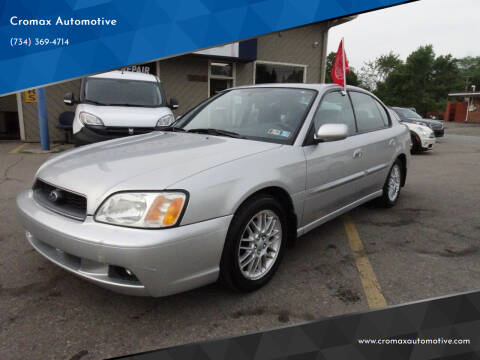 2003 Subaru Legacy for sale at Cromax Automotive in Ann Arbor MI